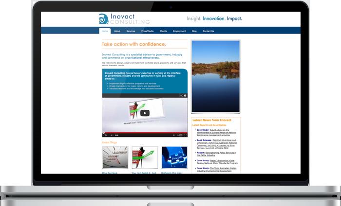 Inovact Consulting Website
