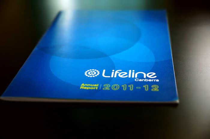 Lifeline Canberra Annual Report 2011 - 12