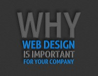 Why is a well designed website important for your company?
